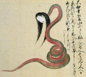 Snake-lady