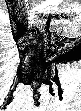 Belgaroth cavalier