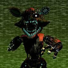 Phantom Foxy in Five Nights at Freddy's 3