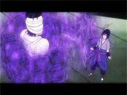 Sasuke Crushes Danzo