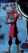 Kundo after becoming cyborg