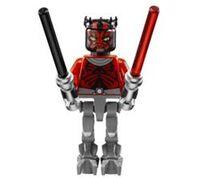 Lego Darth Maul as cyborg
