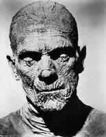 Mummified Imhotep