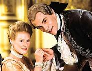 Villains Merteuil and Valmont