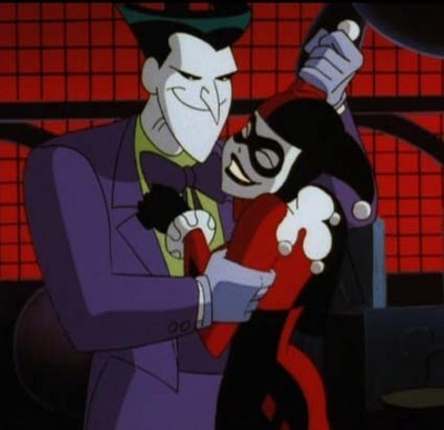 Image result for joker and harley animated