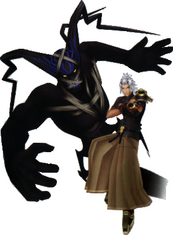 Guardian with Terra-Xehanort
