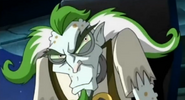 Stankfoot's evil grin