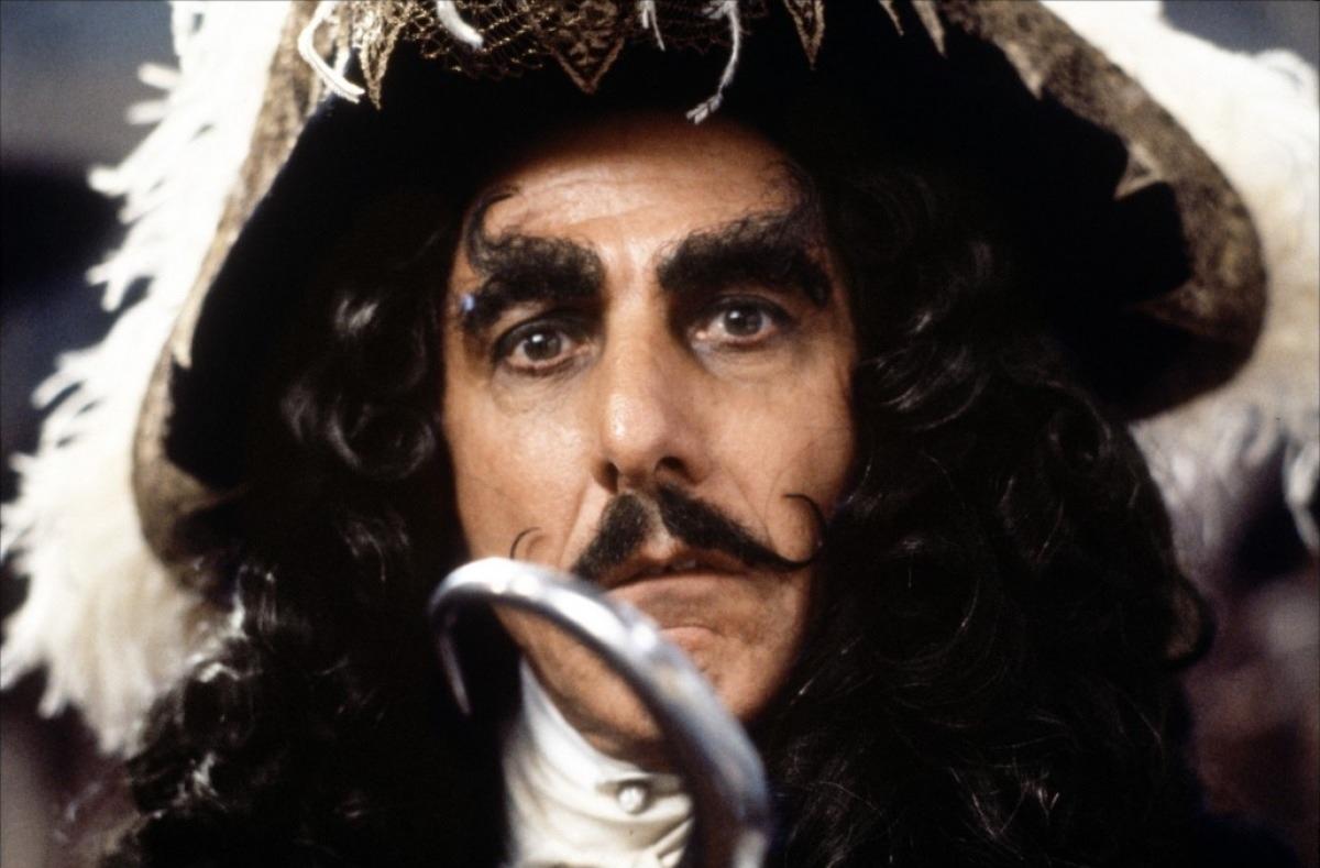 Dustin Hoffman Captain Hook