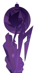 Pink diamond mural transparent