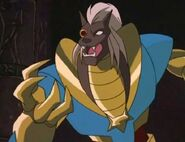 Jackal as Anubis
