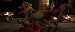 Scorp king vs rick and mummy