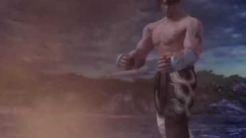 Tekken 5 Jin Kazama Ending