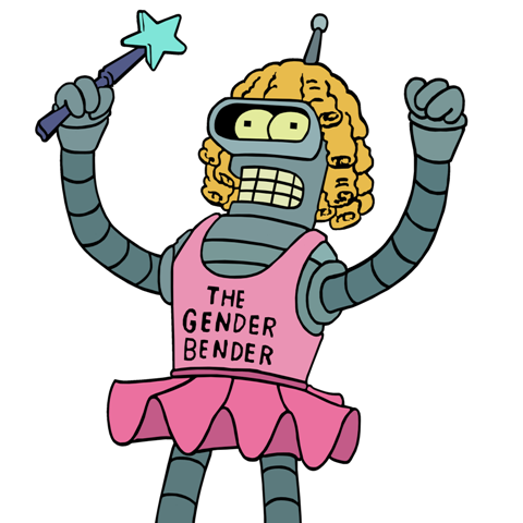 File:The_Gender_Bender on Queen B Clip Art