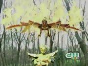 Xaviax as Kamen Rider Wrath prepares to vent Len.
