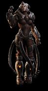 Queen Myrrah Gears 3 Art