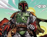 Fett Shadows of the Empire comic