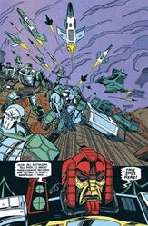 Total War! Cybertronian army attacks