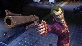 Joker With Gun