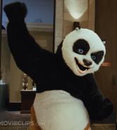 Kung fu Panda singing