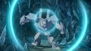 Polarclaw using his sonic roar