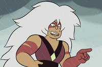 Jasper making fun of Steven