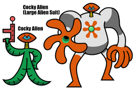 Cocky Alien
