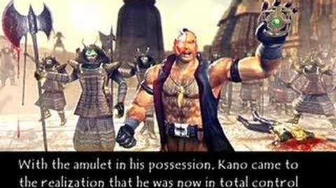 Mortal Kombat Deadly Alliance Kano's Ending