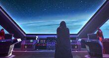 Mysterious Stranger above Rakata Prime