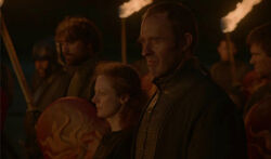 Stannis Selyse burning statues