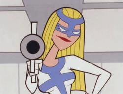 Femme Fatale in the Gun