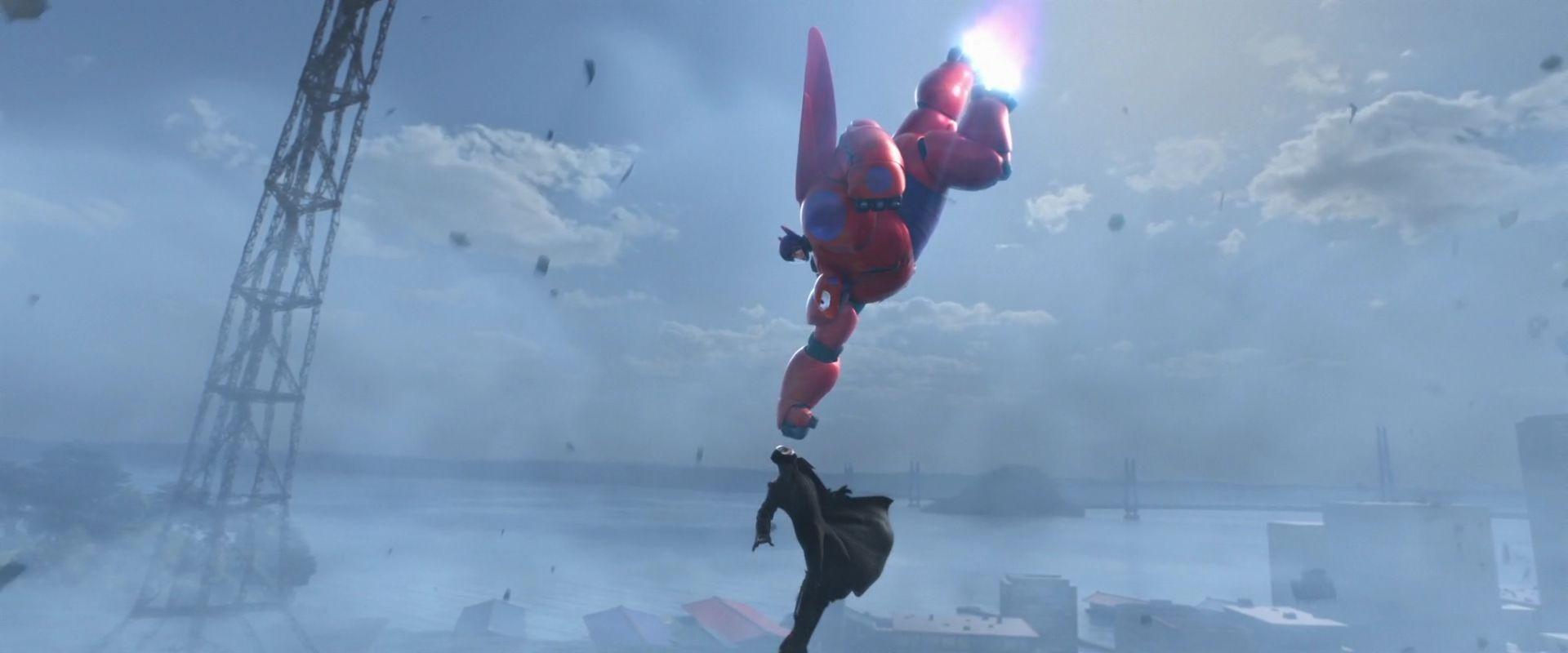Hiro Baymax Yokai Final Battle