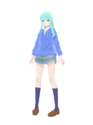 Mmd d a o k o girl model dl by elaizt-d99cqj2