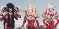 Nimrod the Scarlet Sentinel, AC & DC