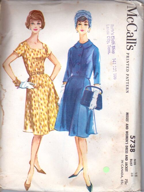 McCall's 5738 SIZE 18