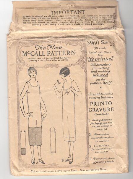 McCall 3960