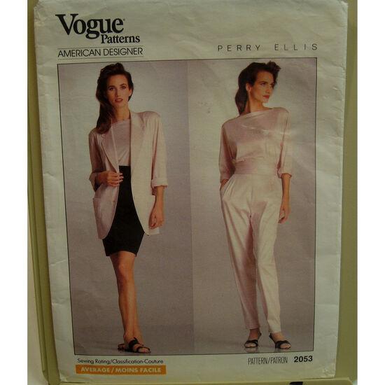 Vogue 2053 front