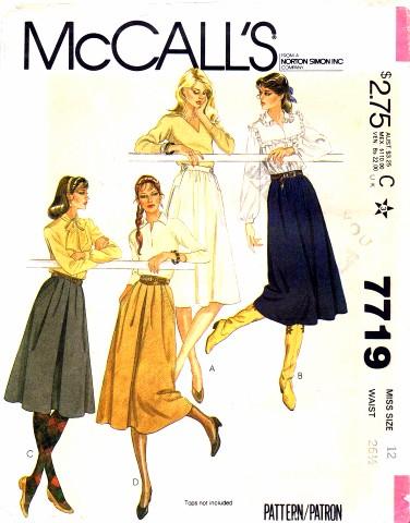 McCalls 1981 7719