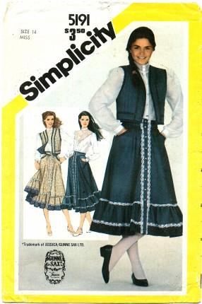 Simplicity 5191 A