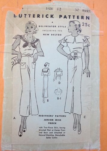 Butterick 5654 pattern thedreamstress