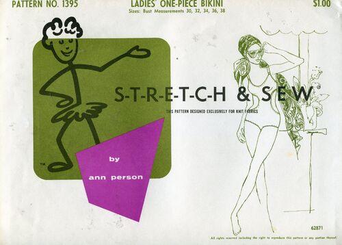 Stretch&sew1395bikini