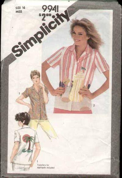 Simplicity 9941 81