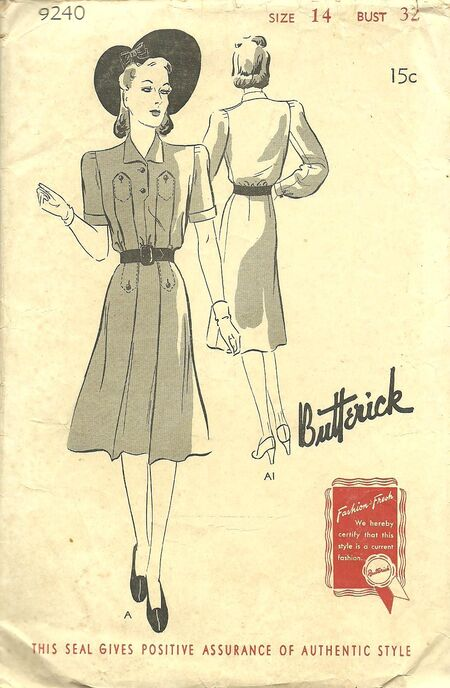 Butterick 9240