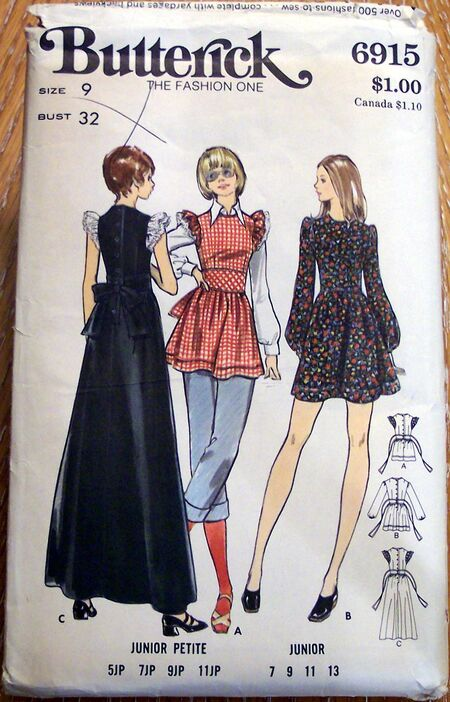 Vintage Artwear Patterns 072