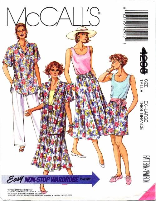McCalls 1989 4295