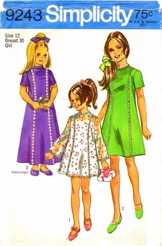 Simplicity 1970 9243