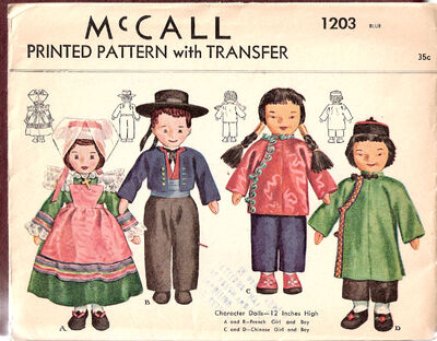 Mccall-french-chinese-dolls