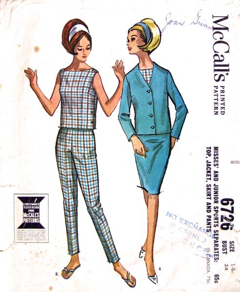 Mccalls 6726