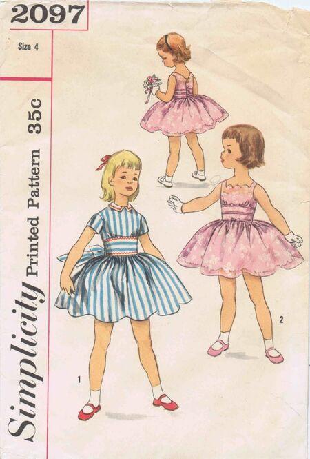 Simplicity 1957 2097