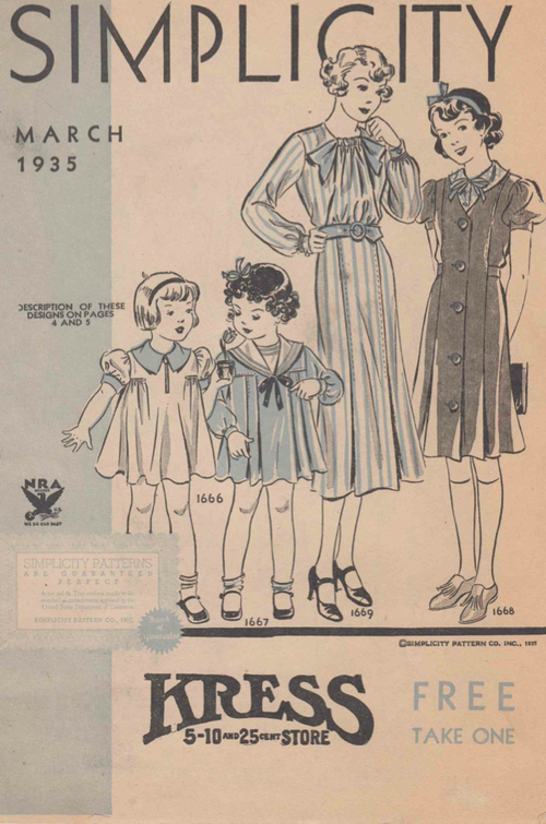 Simplicity March 1935