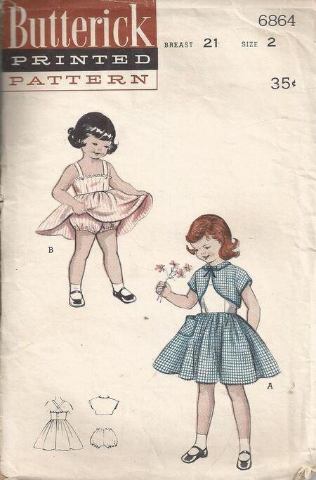 Butterick 6864